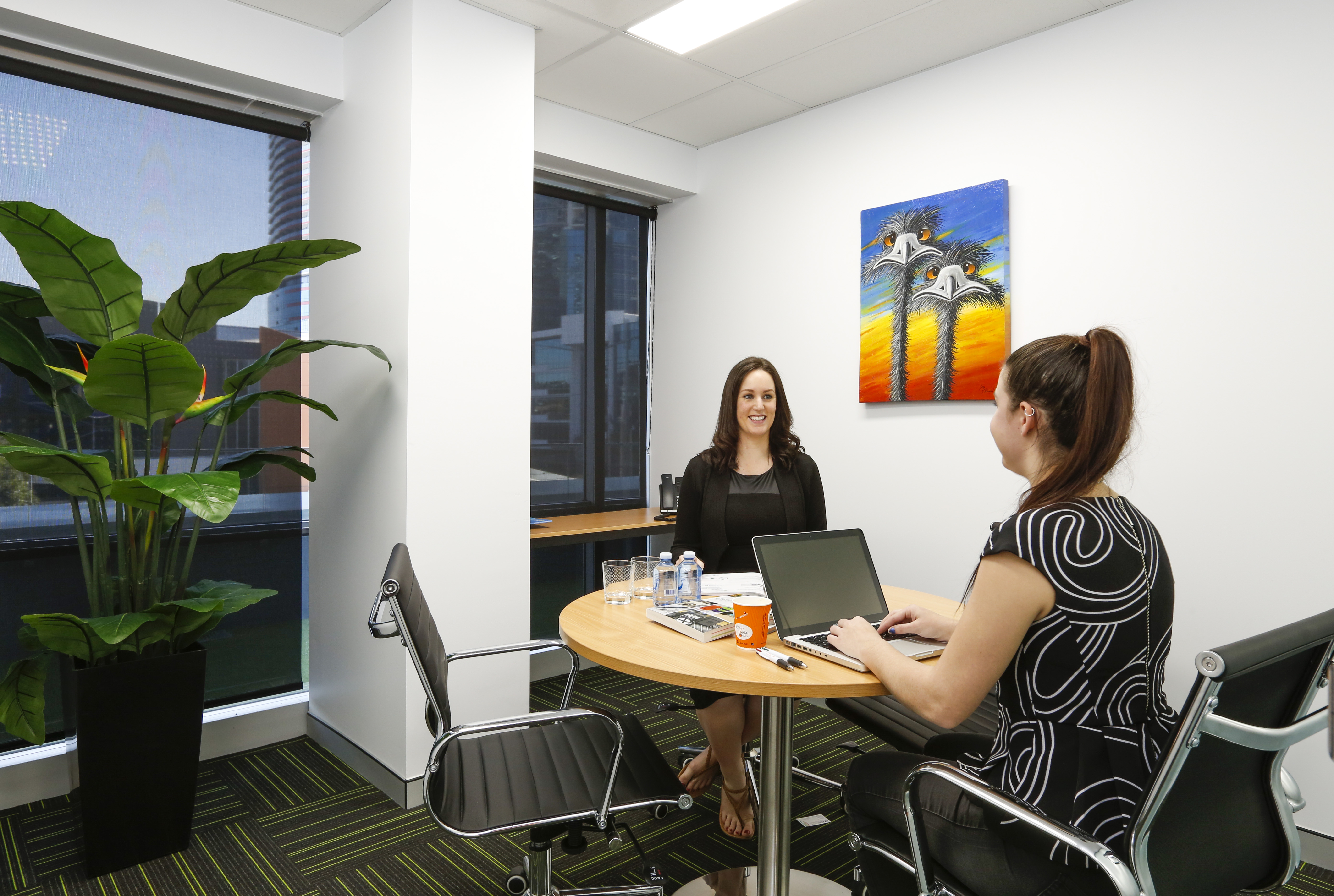 Meeting rooms are an essential element of coworking spaces - blog post image