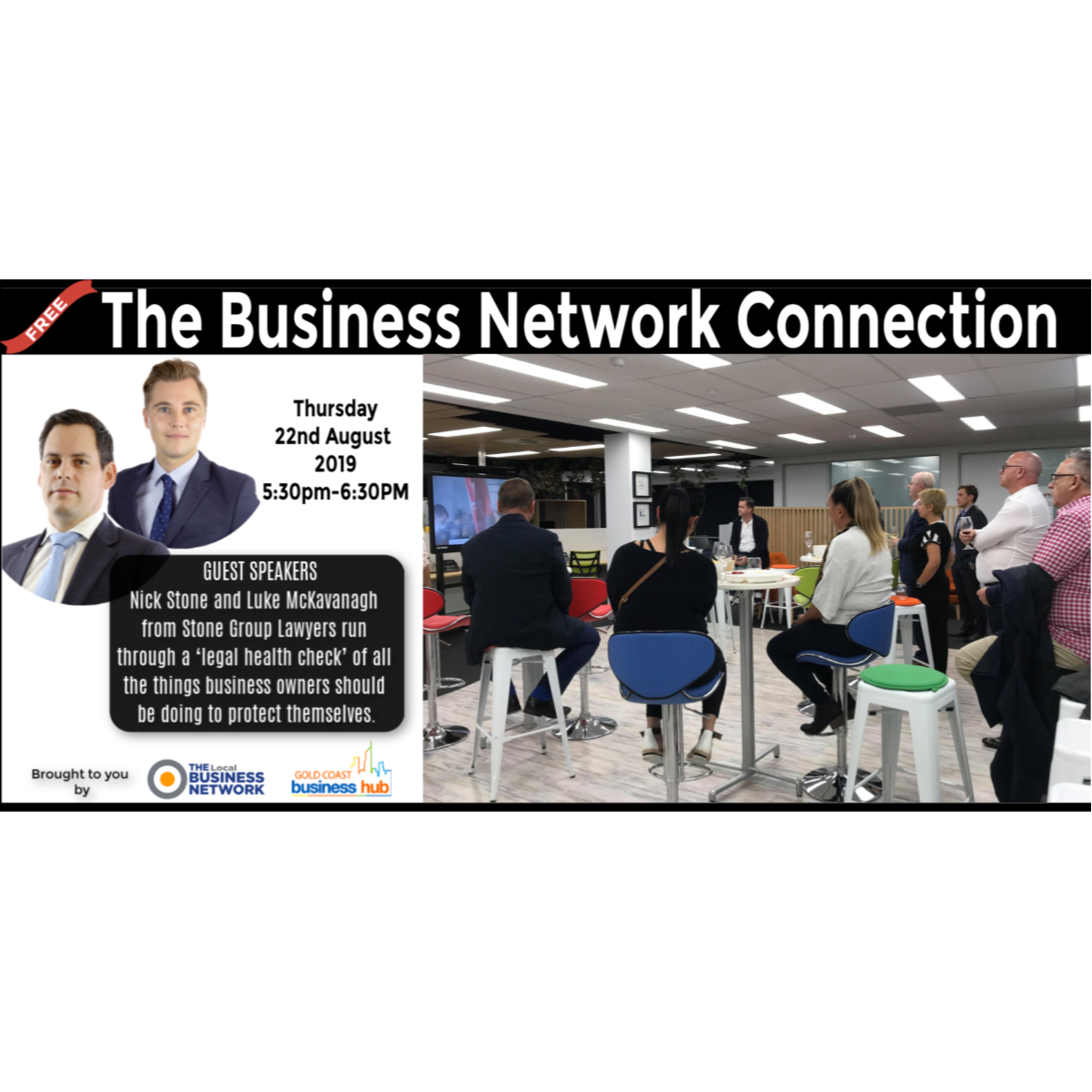 The Business Network Connection - August 2019 - blog post image