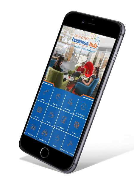 Gold Coast Business Hub Phone App