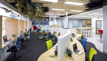 The New Benchmark in Serviced Offices and Co-working Spaces - blog post image