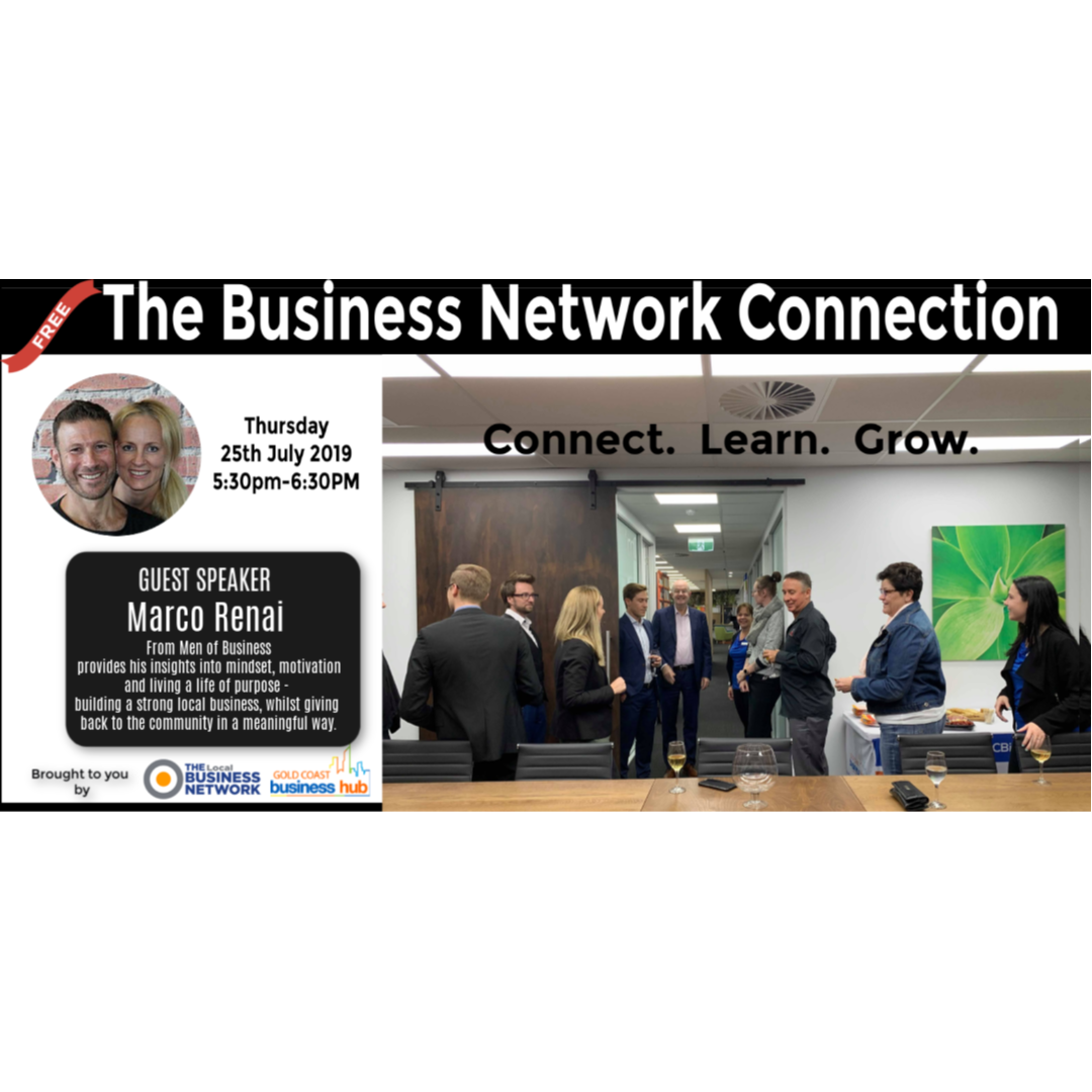 The Business Network Connection - July 2019 - blog post image